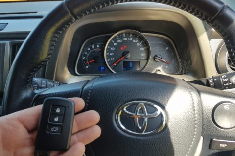 Lost All Keys To 2013 Toyota RAV4 Cruiser