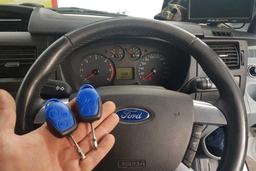 2007 Ford Transit Key Programming