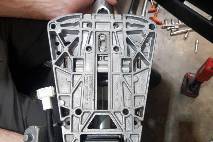 2009 Mercedes C200 (W204) Steering Lock Repair