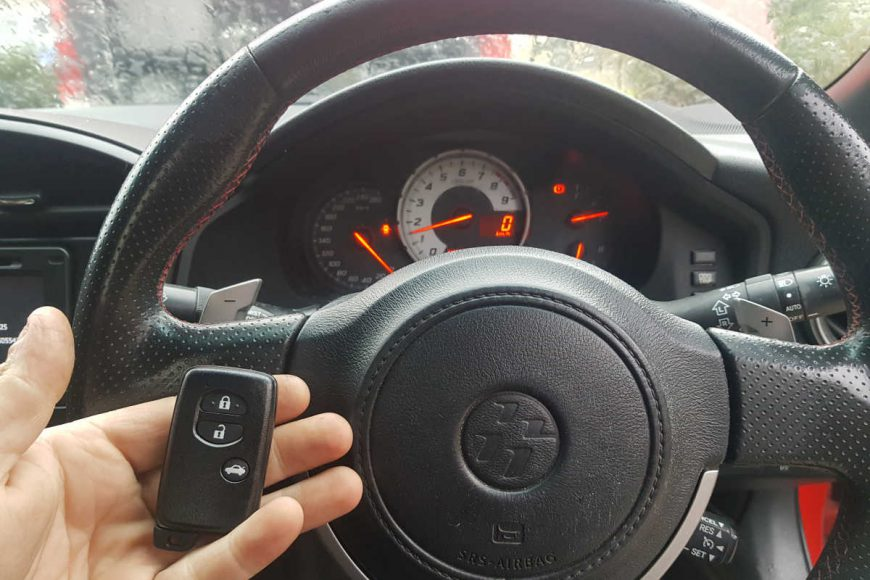 Remote Keys To Suit Toyota 86