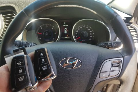 Hyundai Santa Fe Smart Key