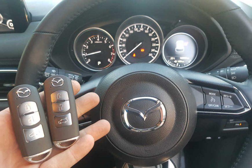 2018 Mazda CX-5 Lost All Keys