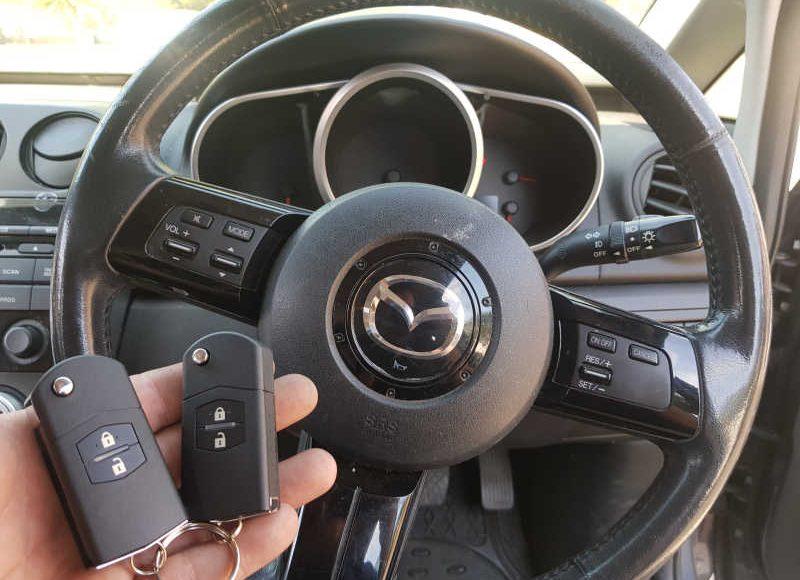 2008 Mazda CX-7 Lost Keys