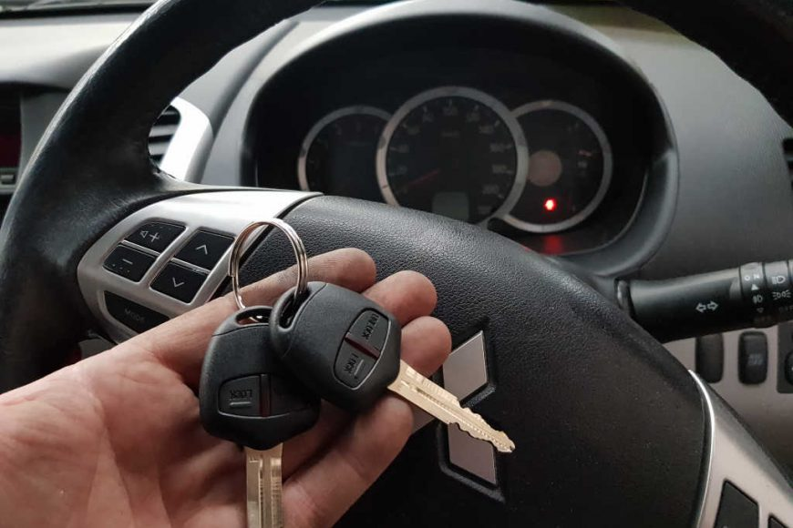 2012 Mitsubishi Triton Lost Keys