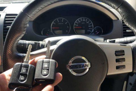 2006 Nissan Pathfinder Spare Key