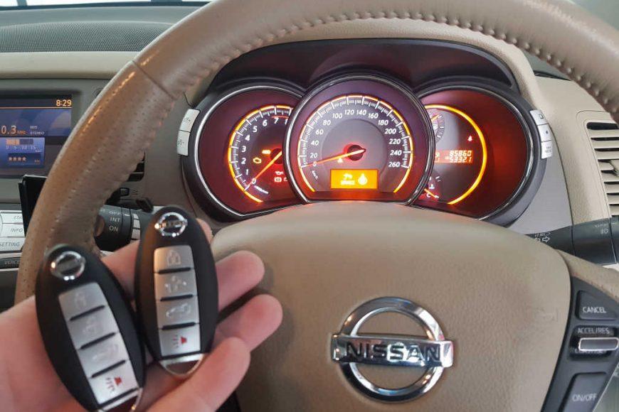 2012 Nissan Murano Lost Keys