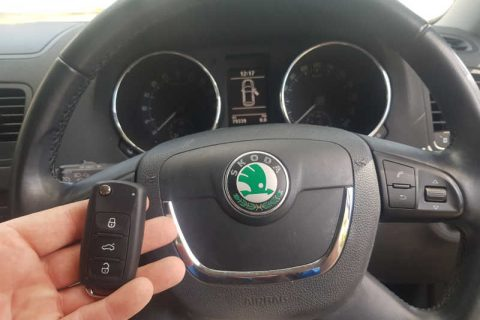2012 Skoda Yeti Lost All Keys
