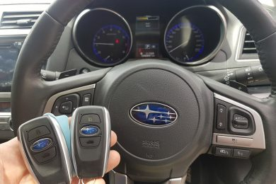 2015 Subaru Liberty Smart Key