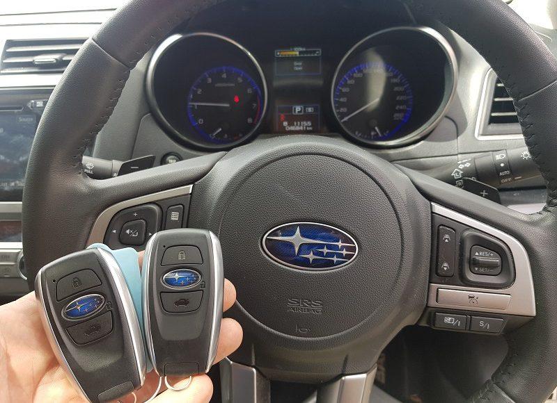 2015 Subaru Liberty Smart Key