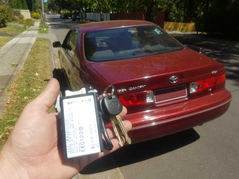 2001 Toyota Camry Lost All Keys   Instant Locksmiths