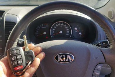 Kia Carnival Key