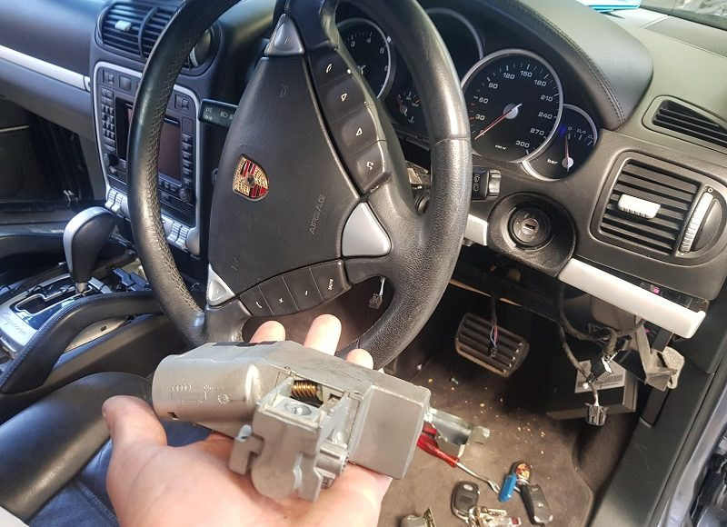 2004 Porsche Cayenne Steering Lock Repair