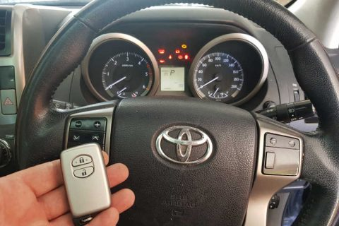 Lost All Keys To Toyota Prado