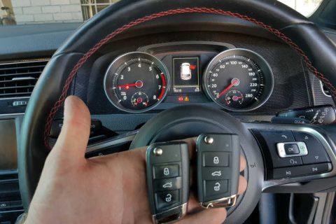 2015 Volkswagen Golf GTi Spare Key