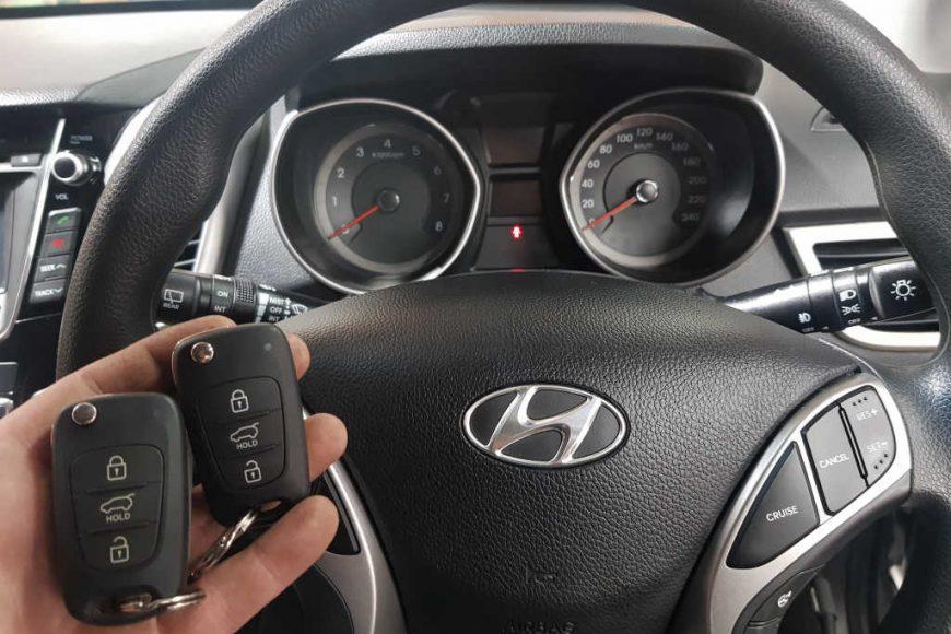 2013 Hyundai i30 Key Replacement Melbourne