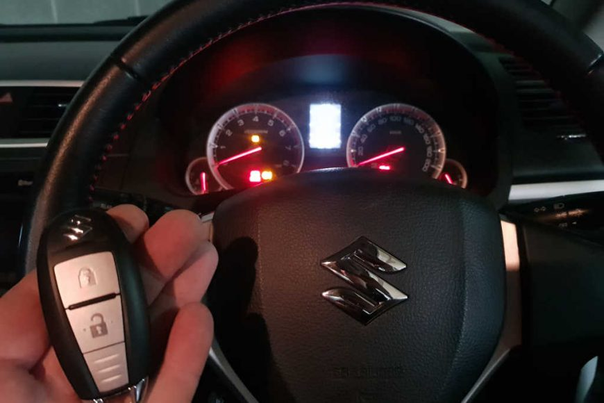 2011 Suzuki Swift Smart Key Programming