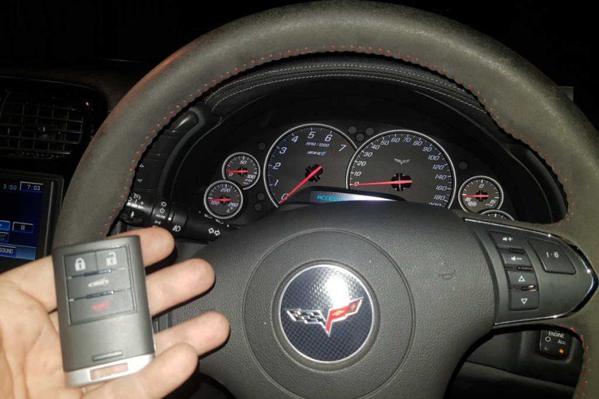 Chevrolet Corvette Z06 Smart Key