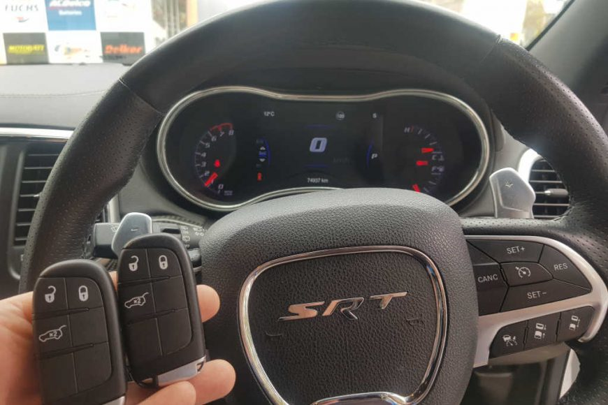 Jeep Grand Cherokee Smart Key