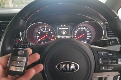 2016 Kia Carnival Keys