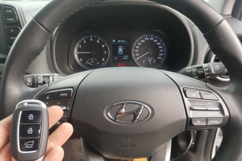 2019 Hyundai Kona Key Replacement