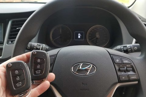Replacement Hyundai Tucson Keys