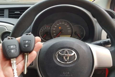Lost All Keys To 2014+ Toyota Yaris