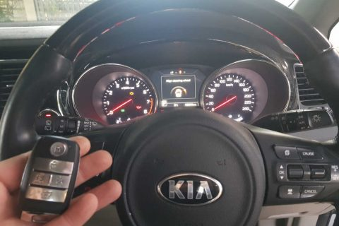 Kia Carnival Smart Key Programming