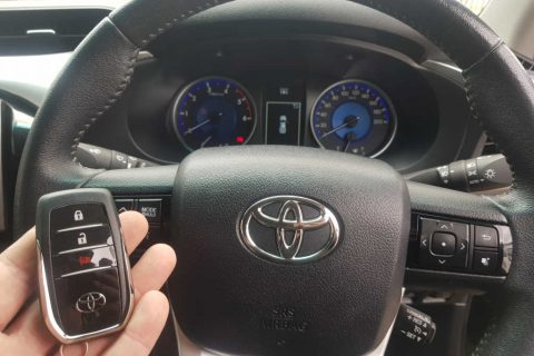 Replacement Keys 2017 Toyota Hilux