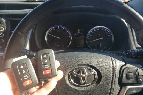 Smart Keys For Toyota Kluger