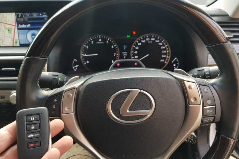 Smart Keys To 2013 Lexus GS250