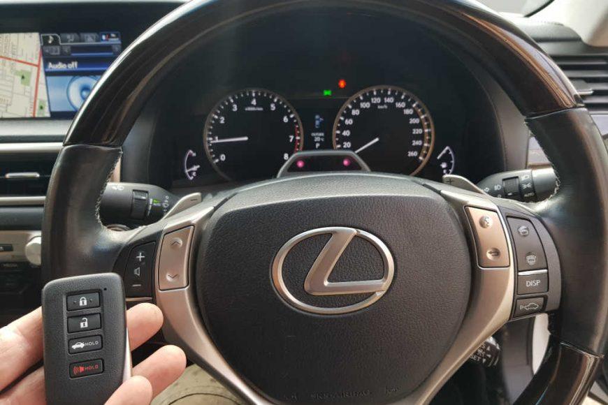 Smart Keys To 2013 Lexus GS250