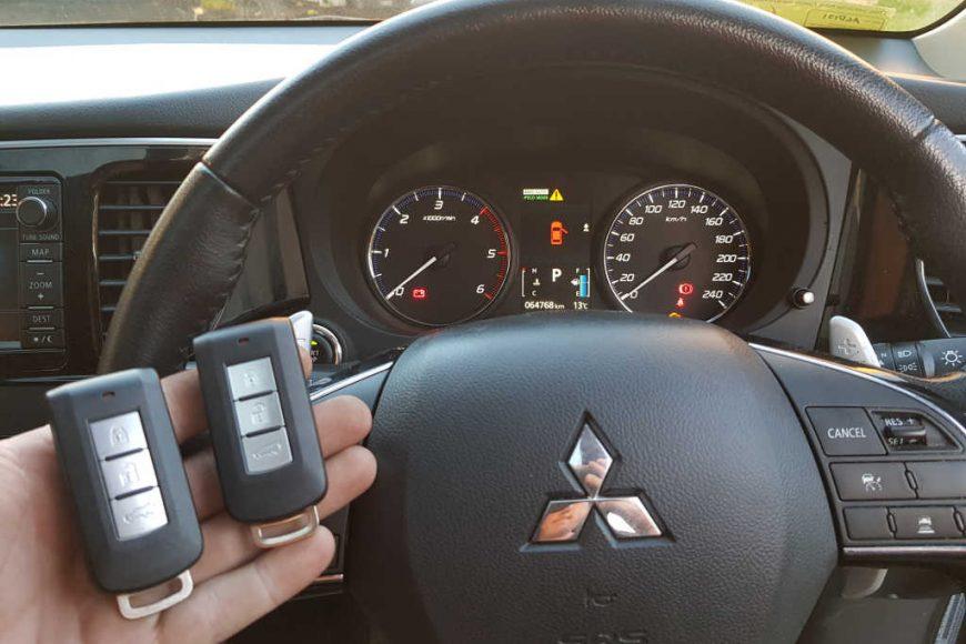 Mitsubishi Outlander Smart Keys