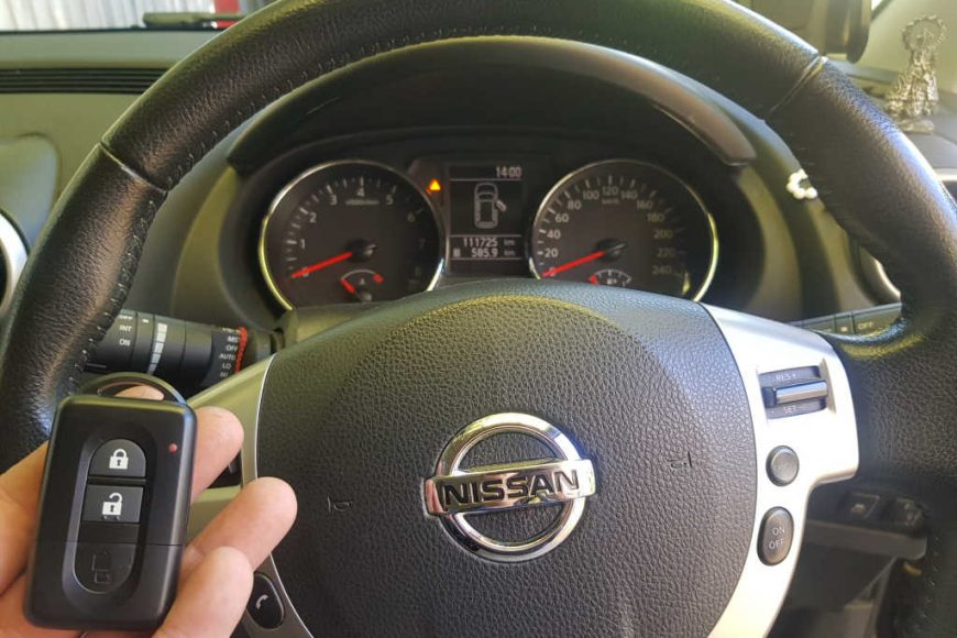 Replacement Keys For Nissan Dualis